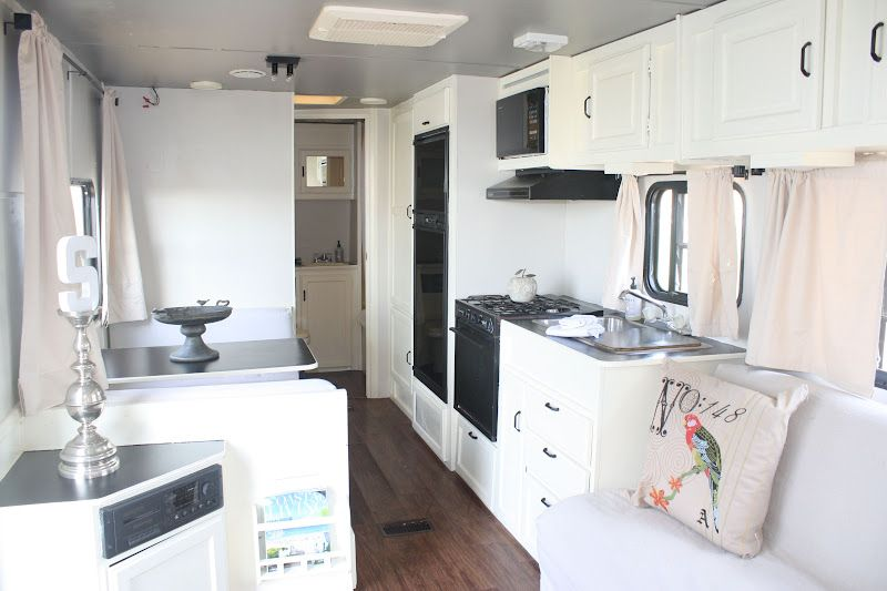 Our 1st  Rv trailer pre-reno!    AFTER Reno  & now 4 SALE!                                               We have had several fun  trips ...