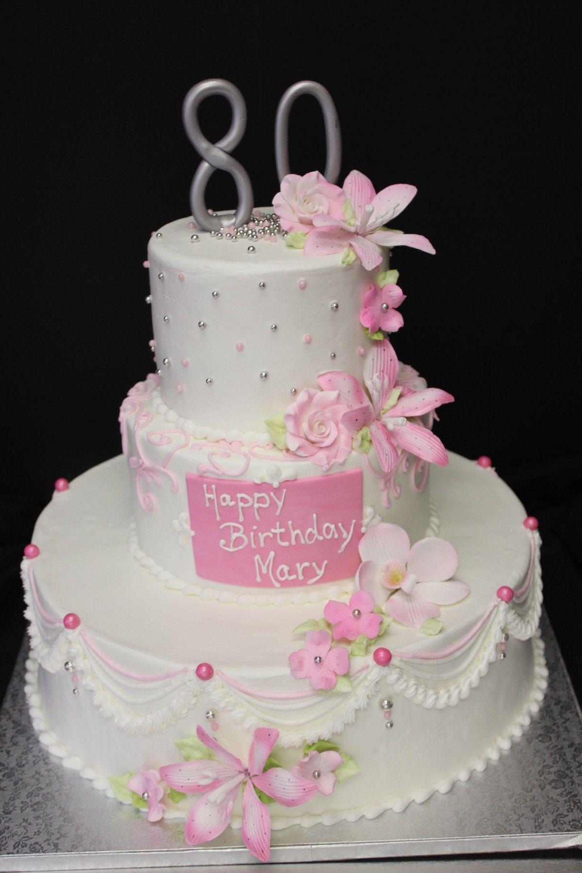 80 birthday cake 80th birthday