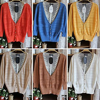 Lovely Lady Lace Knit Shirt