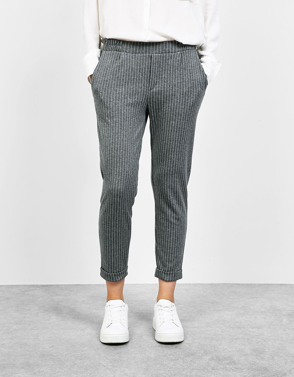Pantalon Ootd Fashion Fashion Jogger Inspi Avec Pinces Tailleur qSIBSw