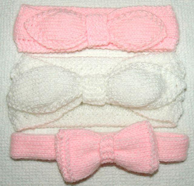 Dk Babies Headbands Pattern By Knits R Us Headband Pattern