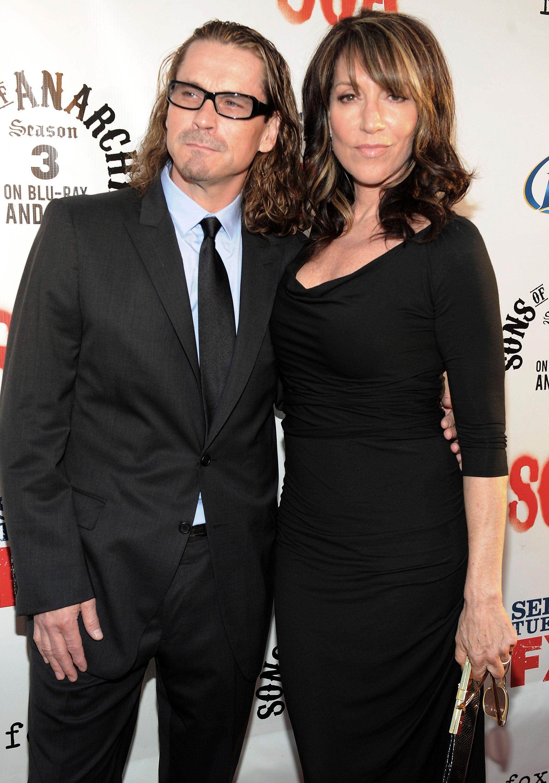 Kurt Sutter and Katey Sagal   Famous Couples   Pinterest ...