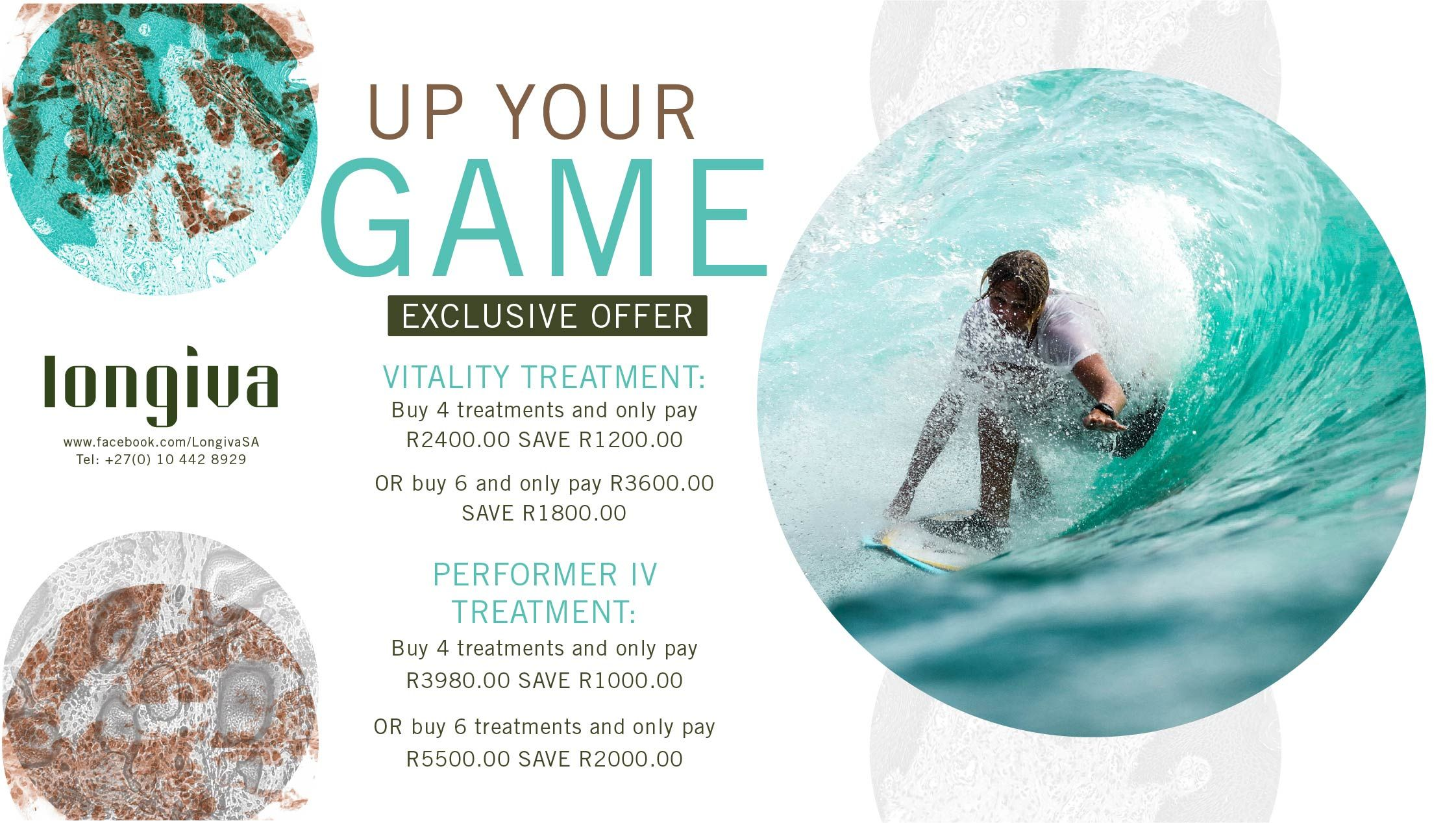 Time to UP your game in 2019 with our VITALITY and