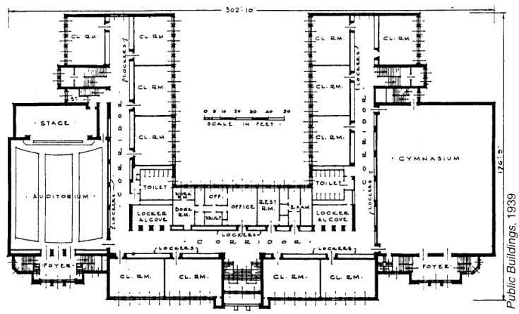 Thomas Alva Edison Elementary School Hammond School Building Design School Building Plans Building Design Plan