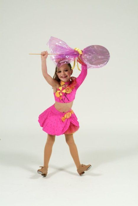 Maddie from Dance Moms in sunshine, lollipops, and