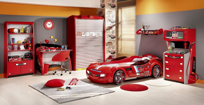 toddler boy room ideas cars  Boys bedroom furniture sets, Toddler