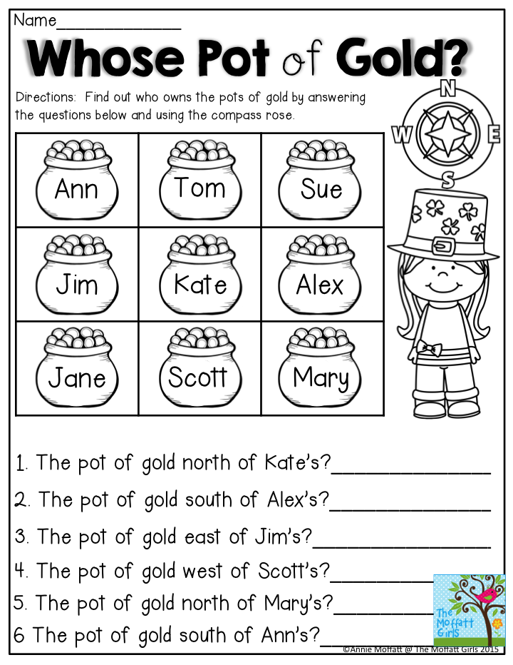 Whose Pot of Gold? Practice directions using the compass