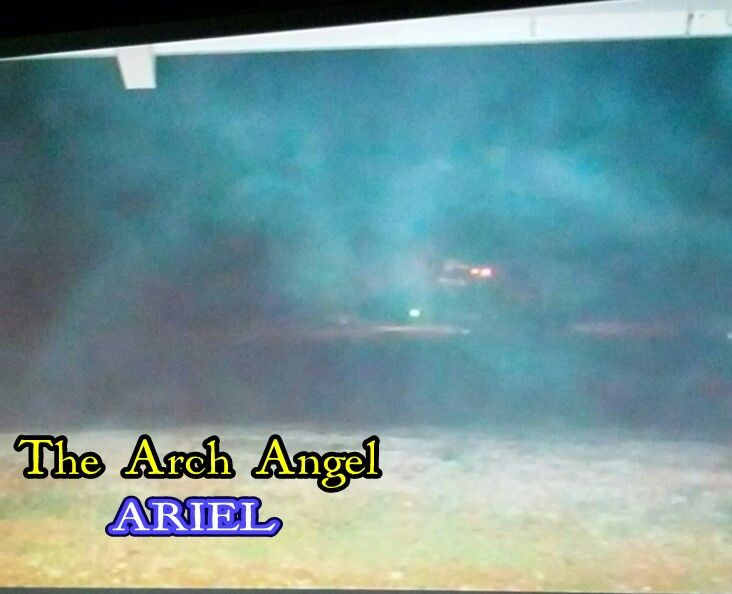 Many of her.  Ariel is definatly real Follows along side  Pulsates as blue orb destroying harmful energy