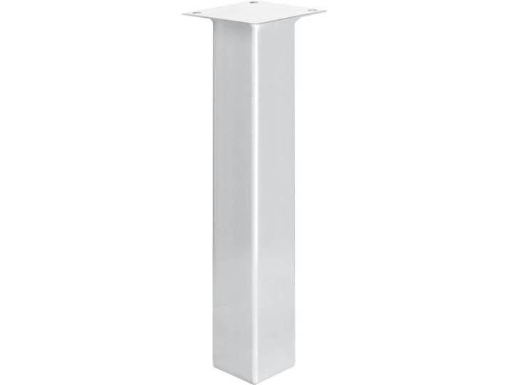 Tischbein Eckig, Möbelfuß aus Stahl, Quadratrohr 40x40 mm