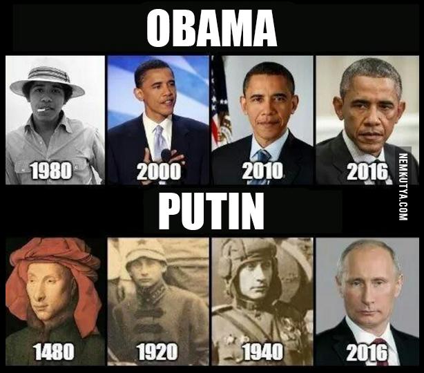 Putin Meme --- OMG PUTIN IS IMMORTAL! HES A VAMPIRE! XD