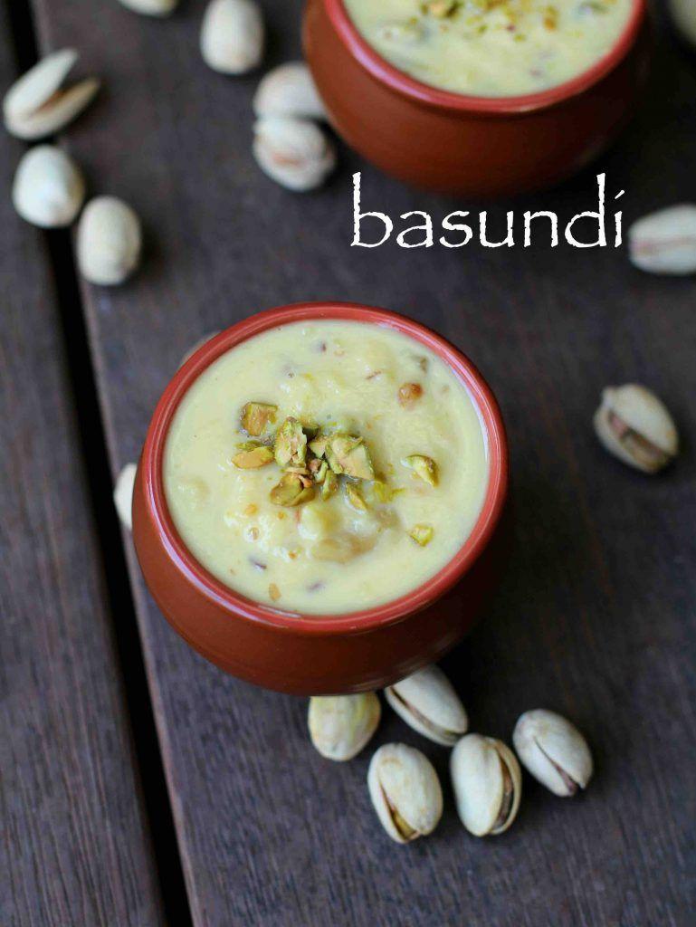 Basundi Recipe How To Make Basundi Sweet Easy Milk Basundi Recipe Indian Snack Recipes Recipes Cooking Recipes Desserts