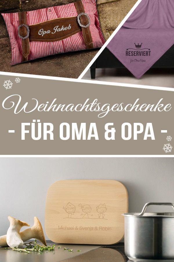 Weihnachtgeschenke für Oma und Opa #persönlichegeschenke