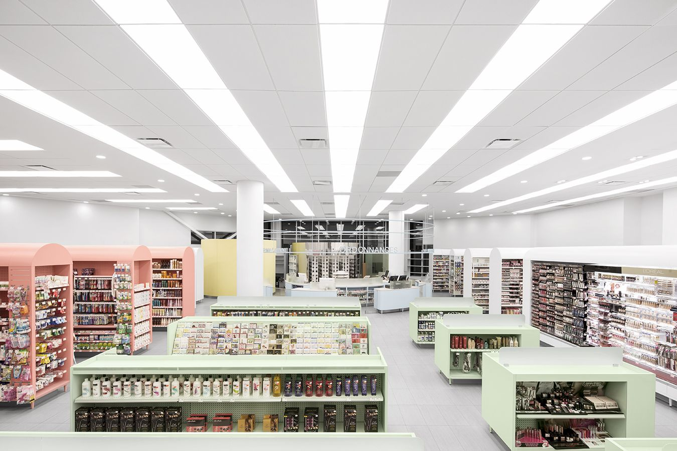 PHARMACIE UNIPRIX KIEU TRUONG Empathetic Colorful And Feng Shui These Elements Have Guided The Pharmacy DesignRetail