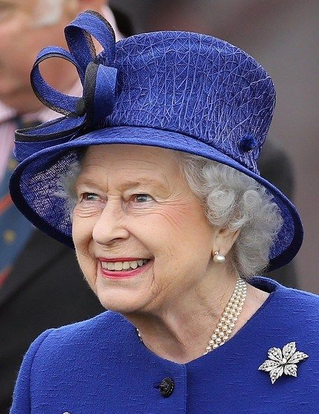 Queen Elizabeth, June 24, 2013 | The Royal Hats Blog....Queen Elizabeth attended the polo final of 'The Al Habtoor Royal Windsor Cup' at the Guards Polo Club near Windsor yesterday.