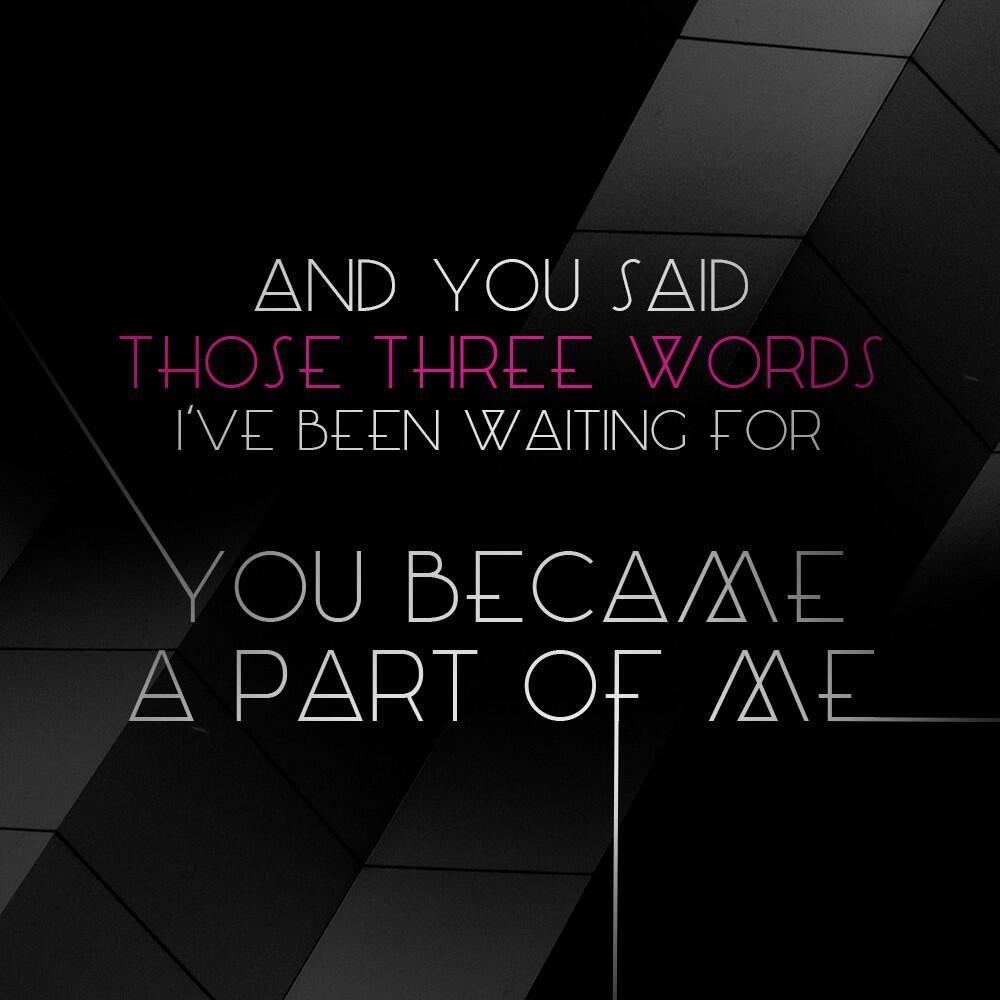 Lea Michele - Youre Mine lyrics | Sing to me, Favorite