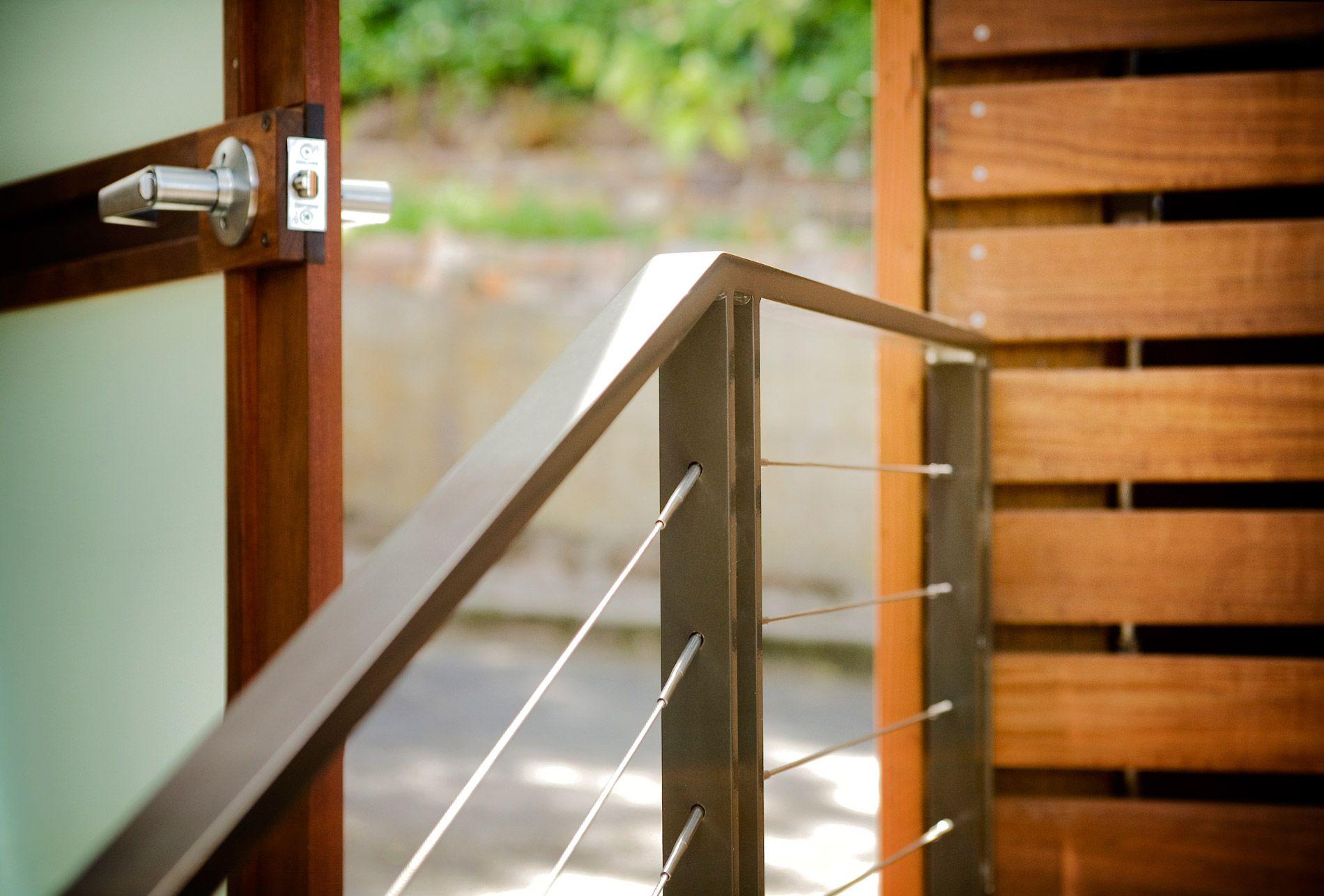 railing detail Ohashi Design Studio: Residential ...