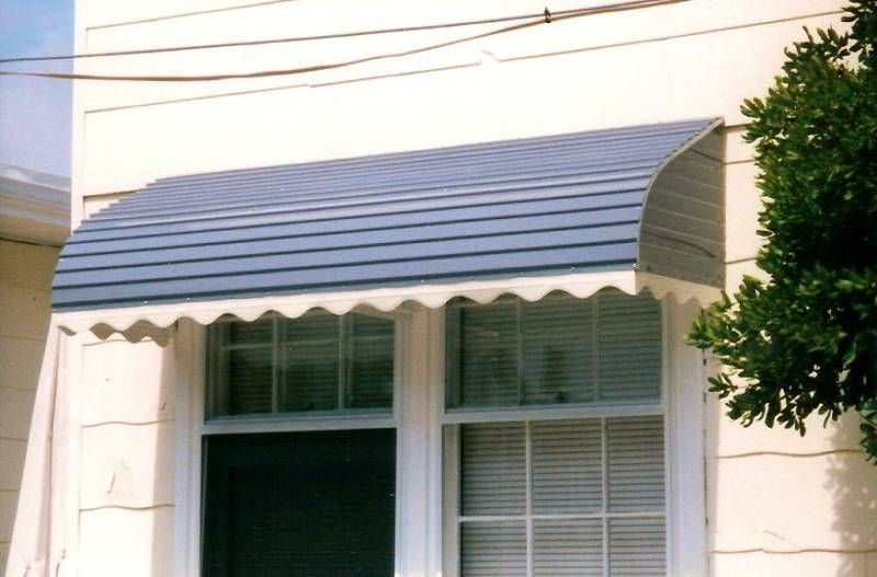 Metal Awnings | ... Shape To Your House, And Save Energy, With