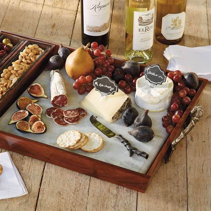 Tuscan Cheese Serving Tray Set | Frontgate & Ok sometimes you have nut bowls cheese platters crackers etc. but ...