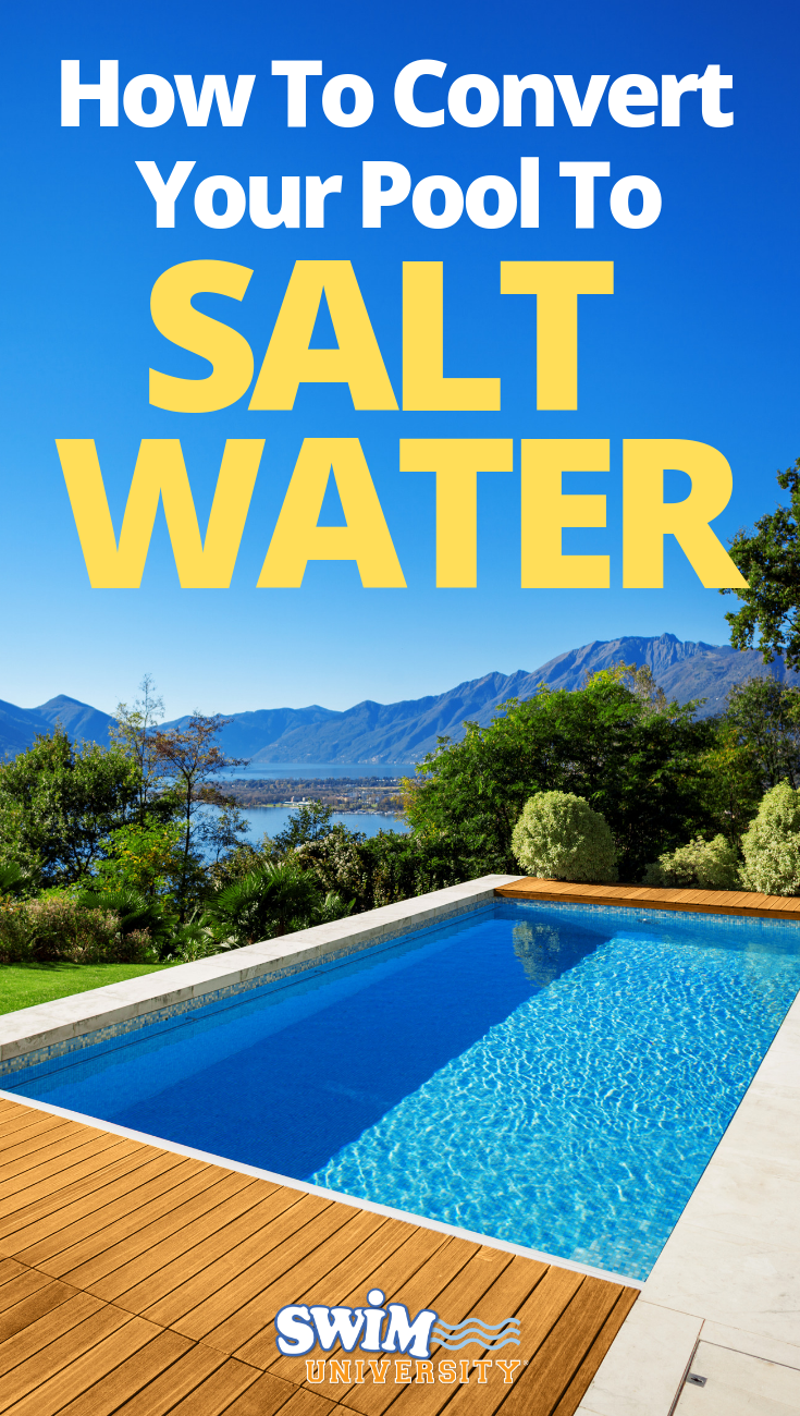 How to convert your pool to salt water pool maintenance - Convert swimming pool to saltwater ...