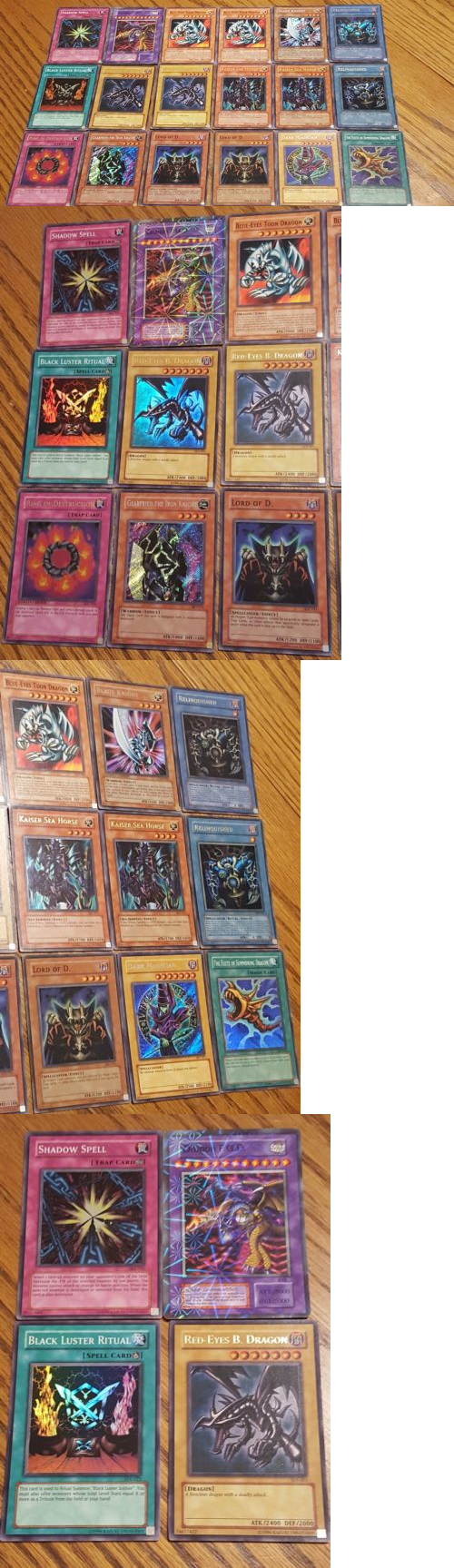 yu gi oh mixed card lots 49209 yugioh cards lot of 18 including