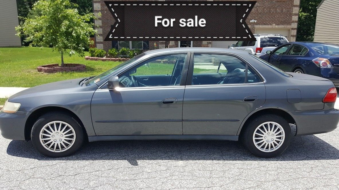 2000 Honda Accord 210k Miles Brand New Battery Ebay Link