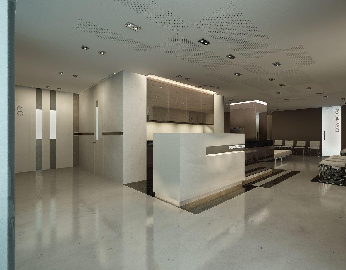 Borough clinic nurse station eastwood design by archt