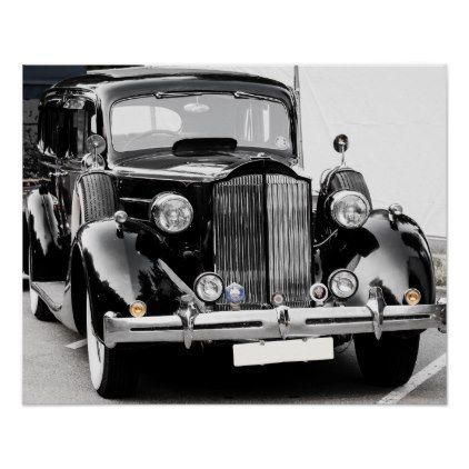 Vintage car poster | Zazzle.com