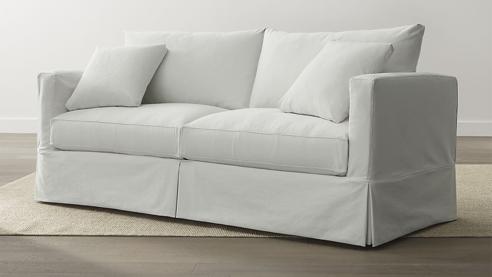 Merveilleux Willow Queen Sleeper Sofa With Air Mattress   Snow | Crate And Barrel    This Is The Best Sleeper Sofa I Have Found So Far. Itu0027s Got A Good Simple  Look For ...