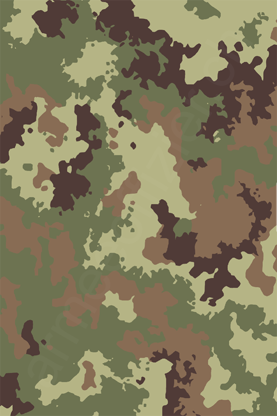 ae0abc68e2 Italy - Italien Vegetato Camo Pattern - by armeeoffizier.ch ...