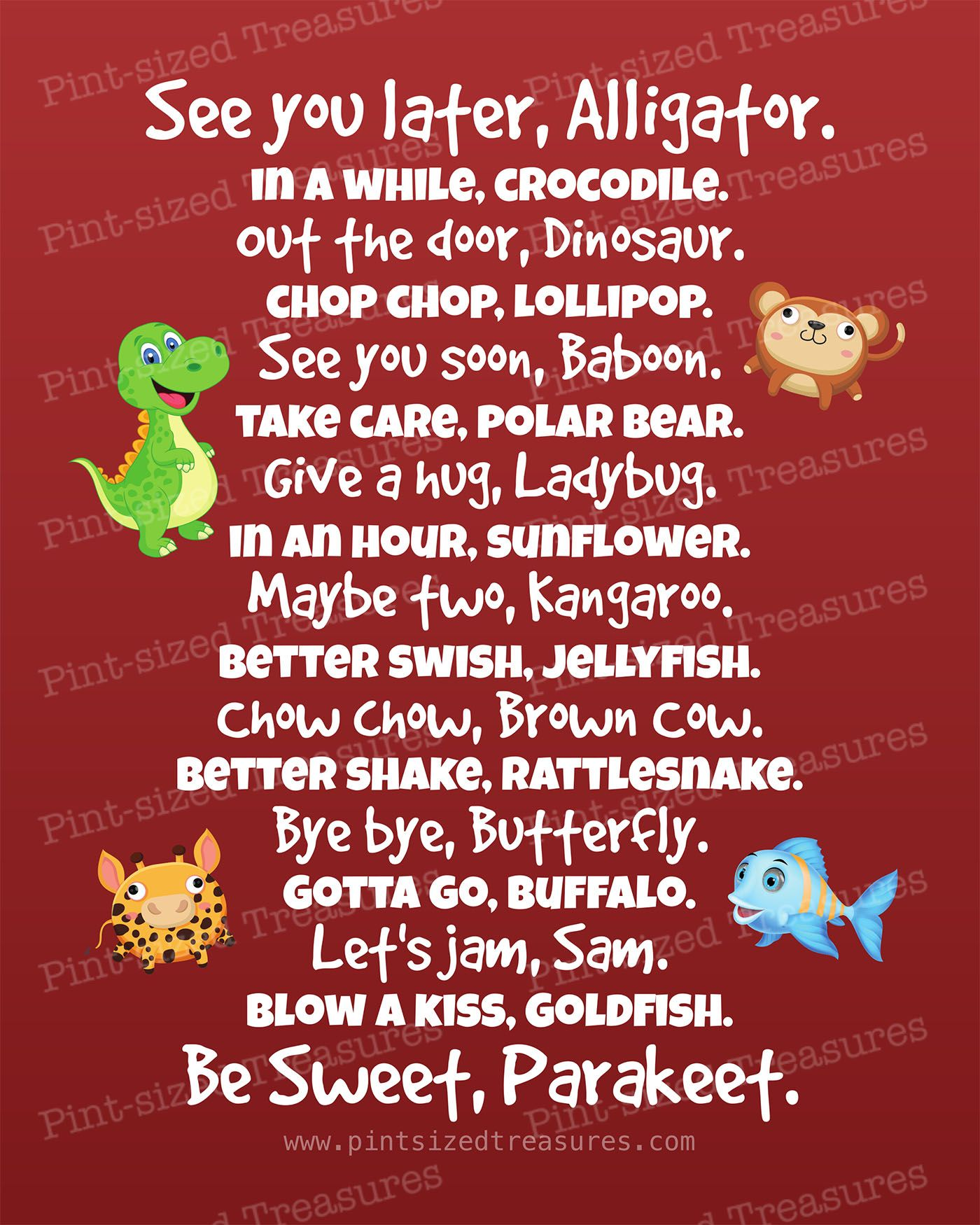 clever quotes about valentines day - Best Tear Free Ways to Say Bye to Your Kids