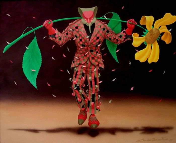 ''Big Flower'' Claudio Souza Pinto