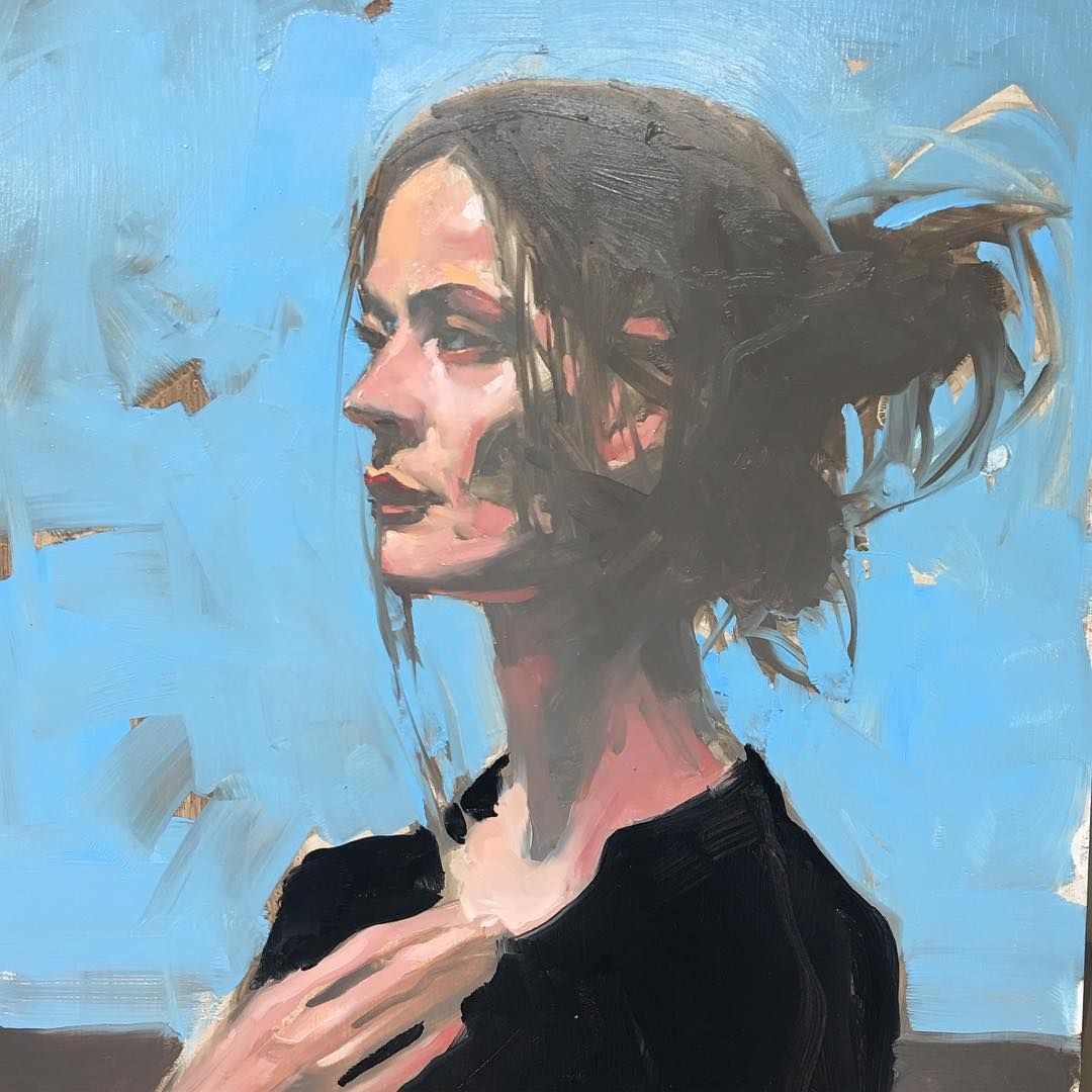 Scottsdale Artists School On Instagram Beautiful Portrait Demo By Michael Carson It S Great Having Mcarson1999 At The School This Wee Artist Art Portrait