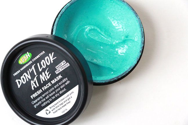Don T Look At Me Lush S New Scrubby Fresh Face Mask Lush Face Products Fresh Face Mask Lush Face Mask