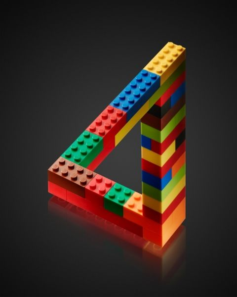 ♥ Lego Escher photographed - Stan Musilek