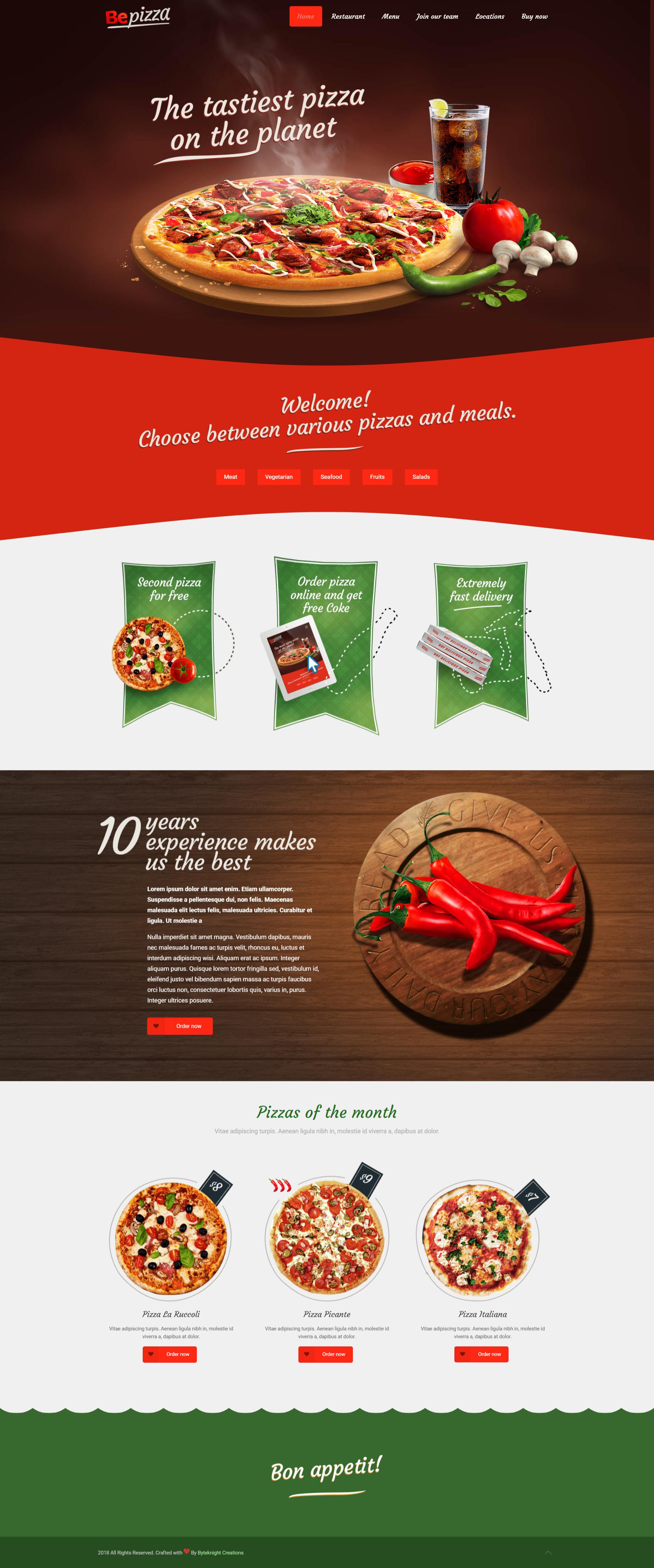 Bk Web Designs Pizza Maker Website Design Demo Pizza Restaurant Website Design Demo Bkwebdesigns Bkdemos Designs De Websites Design Sites Midias Sociais