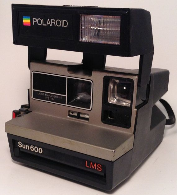 Polaroid Sun 600 LMS Instant Camera by TroutsAntiques on Etsy, $10.00