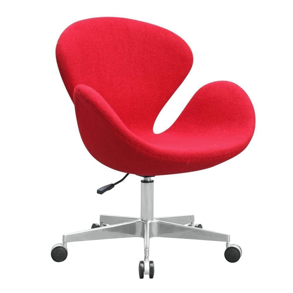 Buy Swan Chair Fabric With Casters At Lifeix Design For Only  # Muebles Sayez Martorell