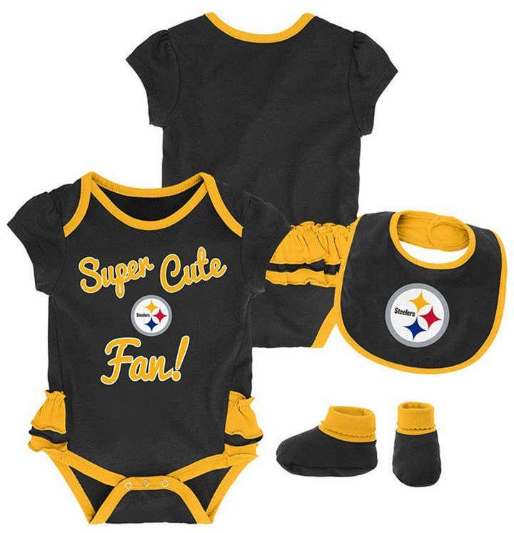 Bodysuits Pittsburgh Steelers 2018 Girls 3 pk