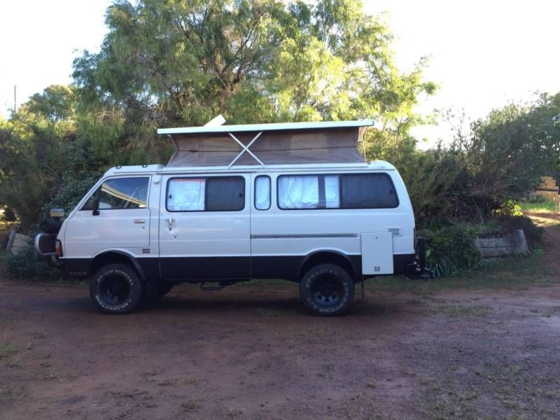 Campervan 4x4 Pop-Top Toyota Hiace | Campervans ...