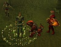 Now that Jagex finally released the Morytania tasks, Monique and I have been running through them a bit each day.  For fun, and because it just makes sense, we've started with the easy tasks, and are working our way up.  The last blog covered all the easy tasks, and they were pretty much an easy run exactly as advertised.  Next comes the Medium tasks.  Starting right off the bat, this doesn't seem very different from the easy tasks.  To begin with, we hopped a charter ship to Port…