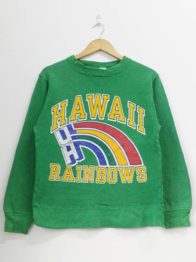 4f6103b3 Champion Vintage 90's Champion Hawaii Rainbows Spell Out Ladies Sweatshirt  Pullover Jumper Size Large Size US L / EU 52-54 / 3