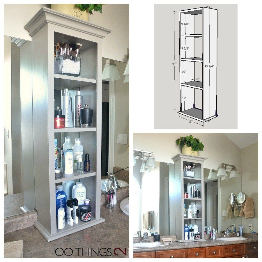 Bathroom Vanity Storage Bathroom Storage Tower Bathroom Vanity Storage Bathroom Storage Tower Diy Bathroom Storage