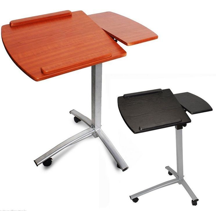 desk podium lectern stand pin height ebay laptop notebook office adjustable table rolling