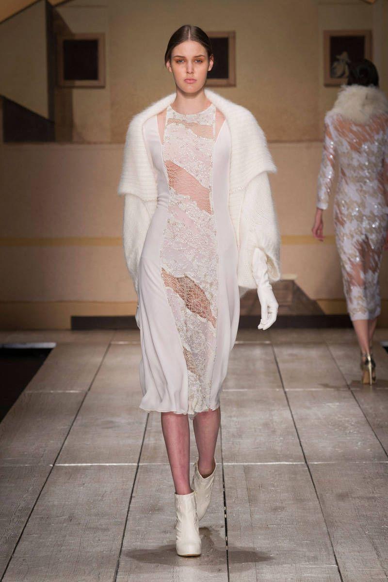 Laura Biagiotti FallWinter 2014-2015 Collection – Milan Fashion Week
