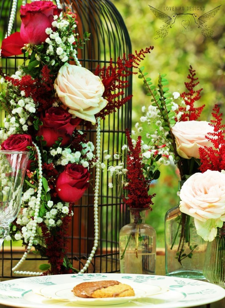 September Wedding Ideas Birdcage Wedding Decor Ideas Wedding Table