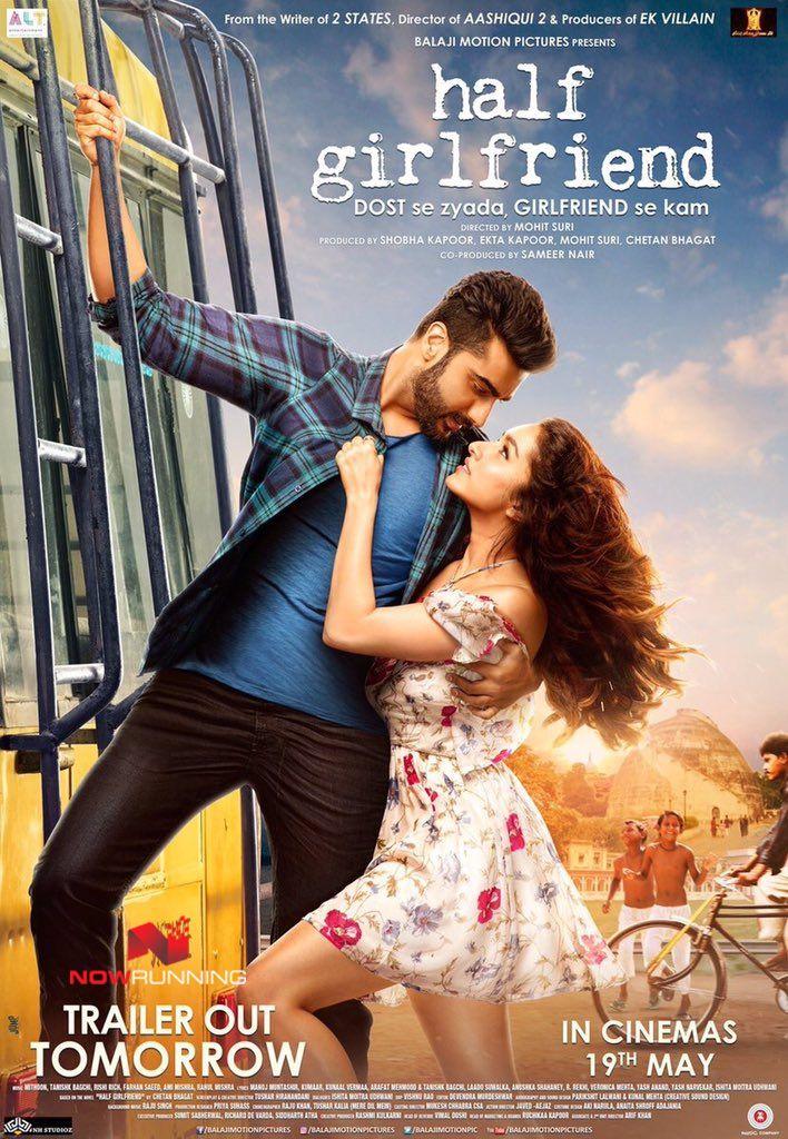 Half Girlfriend New Poster Half Girlfriend Movie Online Girlfriend Song Full Movies Download