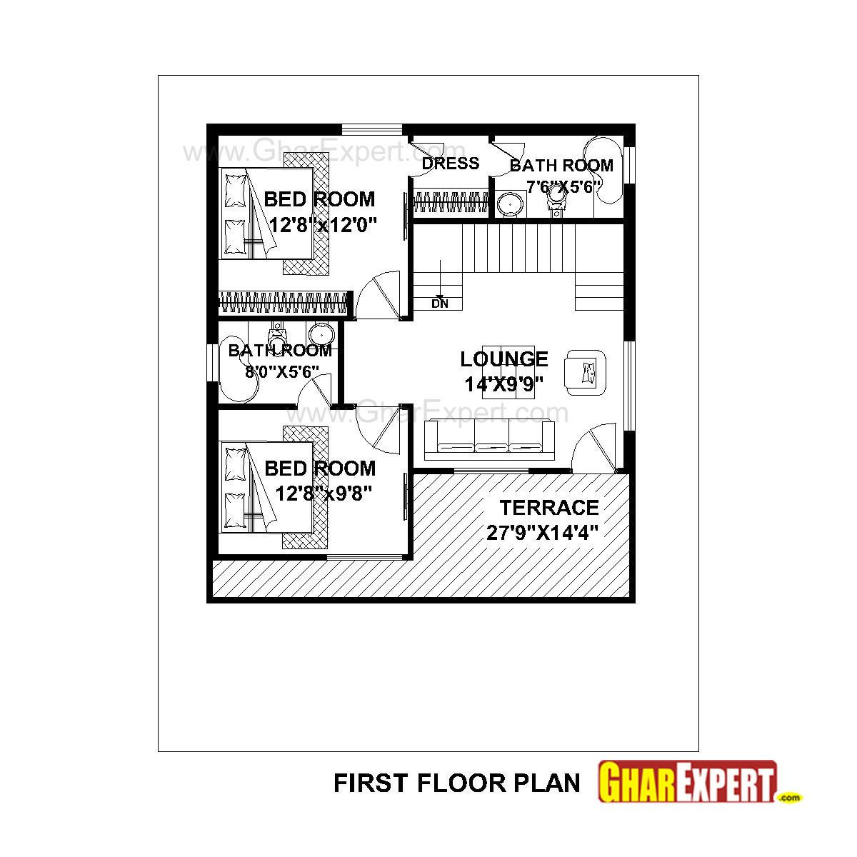17 Awesome 150 Sq Yards West Facing House Plans Images House Plans Budget House Plans West Facing House
