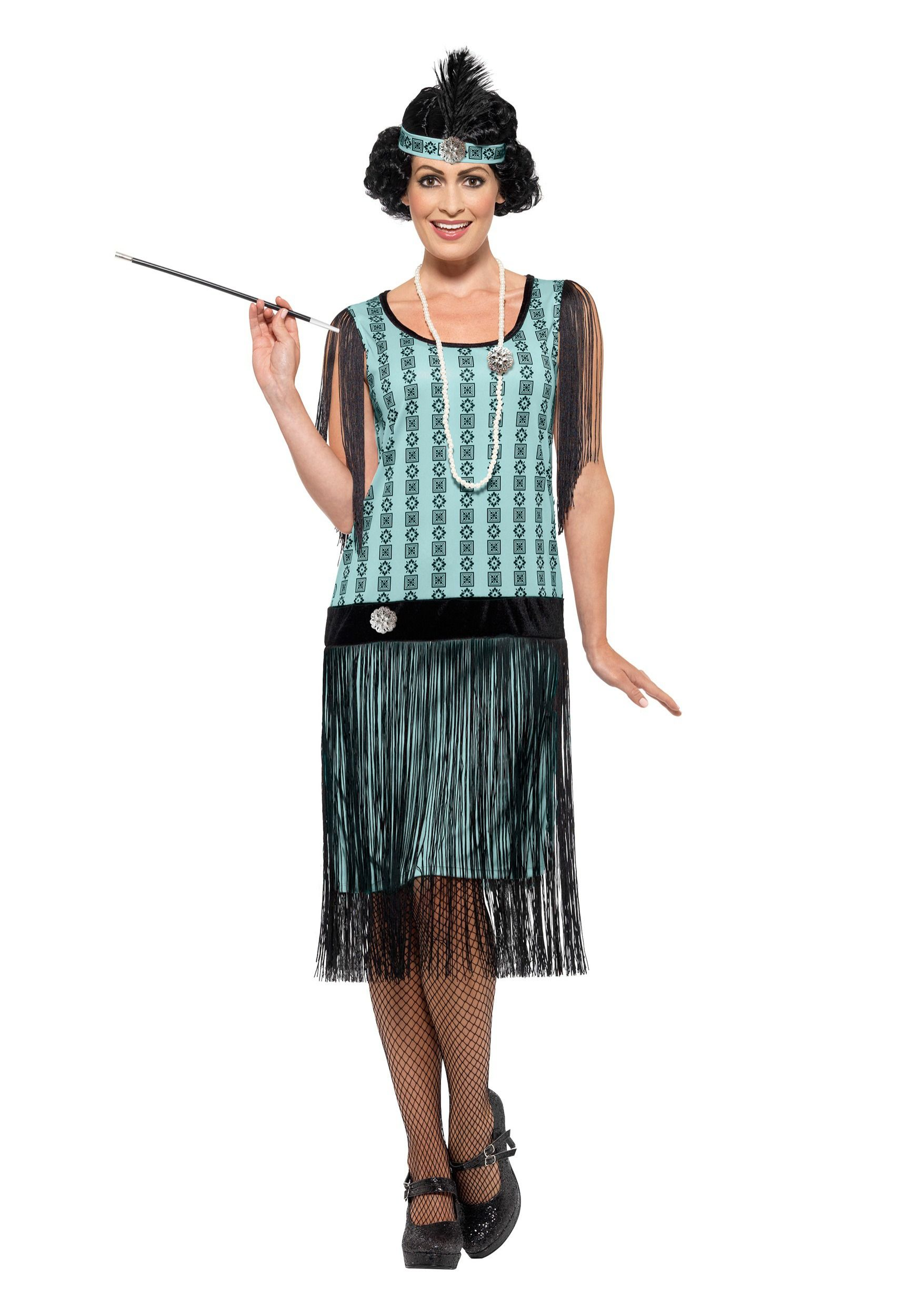 14b9c5b5e30 ... Plus Size Halloween Costumes for Women. 1920s Dress