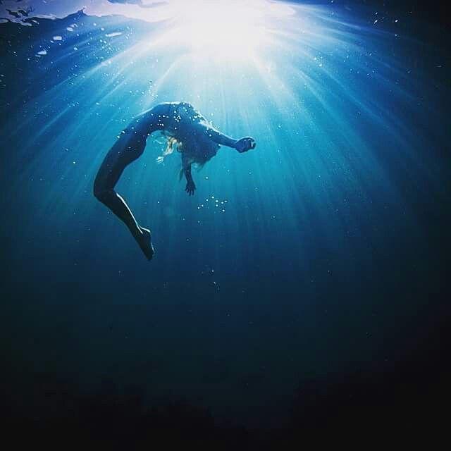 Картинка погружение в воду