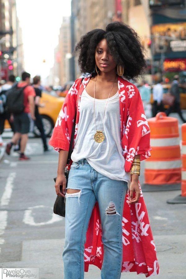 Sweet Kimono Chic Outfit Ideas  (6)